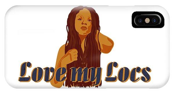 Love My Locs IPhone Case