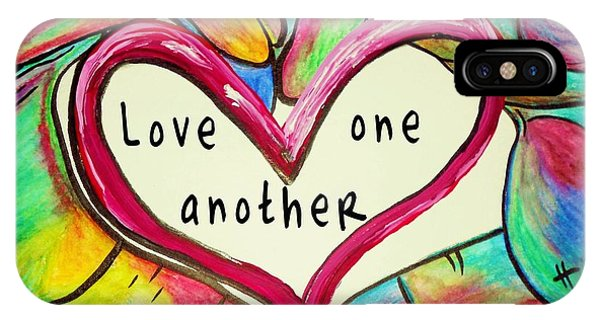 Love One Another John 13 34 IPhone Case