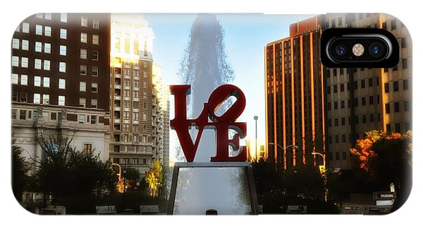 Love Park - Love Conquers All IPhone Case