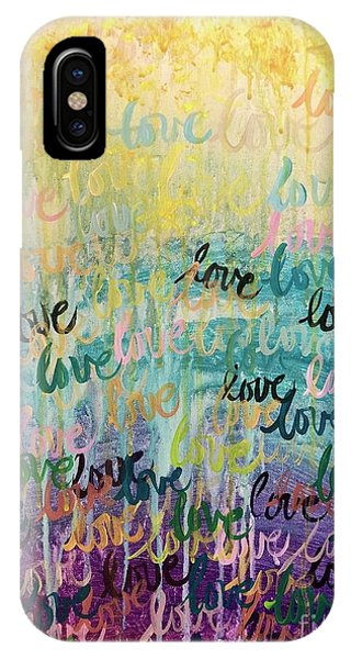 Love Reigns IPhone Case