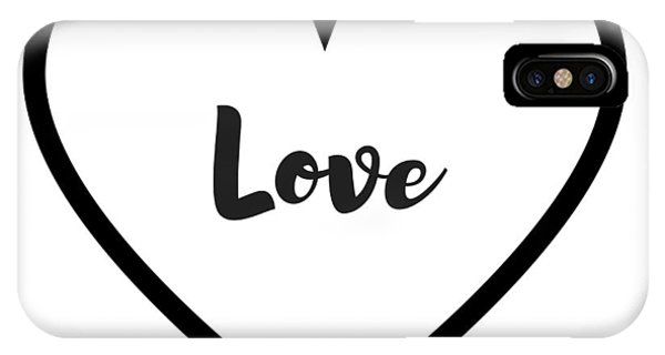Hearts iPhone Case - Love by Rosemary Nagorner