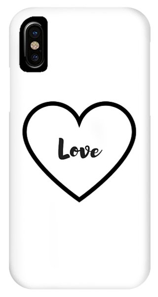 Love iPhone X Case - Love by Rosemary Nagorner