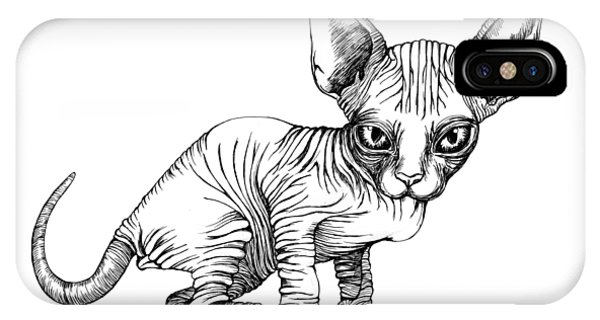 Love Sphynx IPhone Case