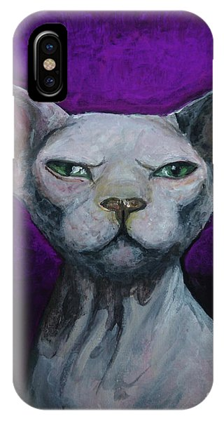 Love Sphynx Cat IPhone Case