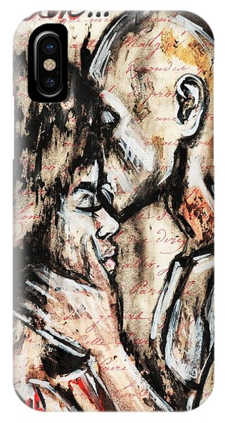 Color iPhone Case - Love Story by Artist RiA