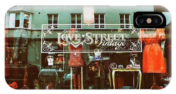Love Street IPhone Case