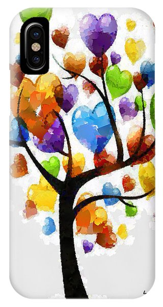 Love Tree 3 - Pa IPhone Case