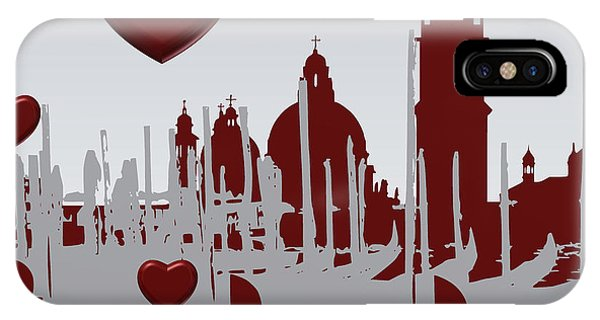 Love Venice IPhone Case