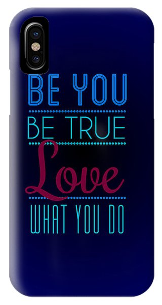 Motivational iPhone Case - Love What You Do by Linda Enzor