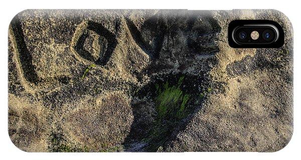 Love Written In Stone IPhone Case