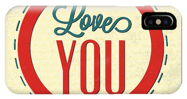 Laugh iPhone Case - Love You Forever by Naxart Studio