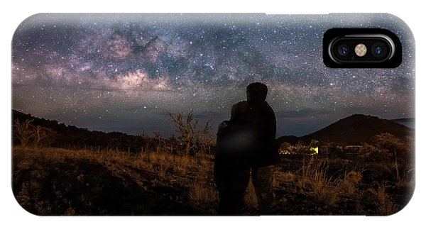 Loveing The  Universe IPhone Case