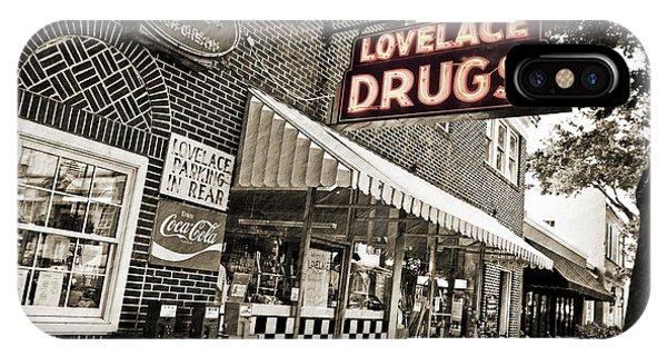 Lovelace Drugs IPhone Case