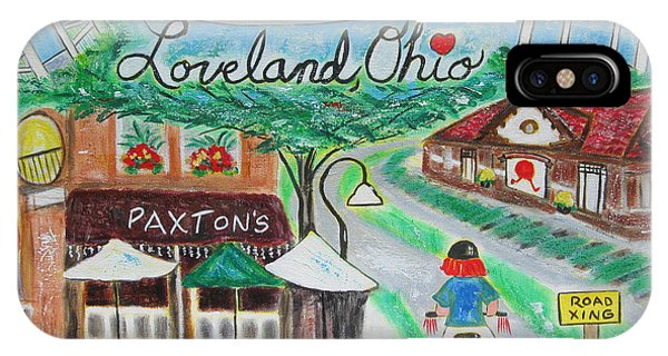Loveland Ohio IPhone Case