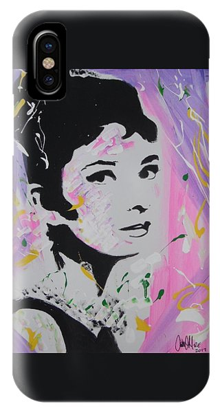 Lovely Audrey IPhone Case