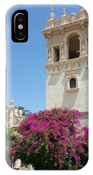 Lovely Blooming Day In Balboa Park San Diego IPhone Case