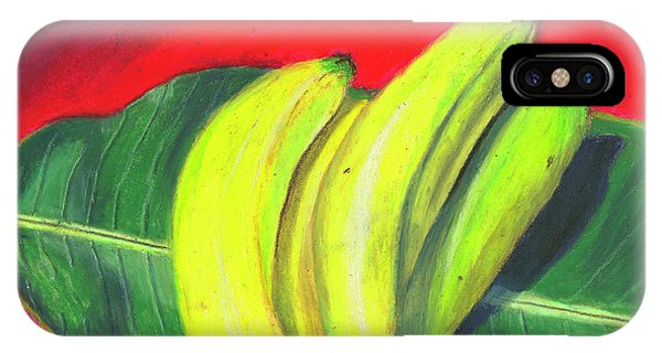 Lovely Bunch Of Bananas IPhone Case