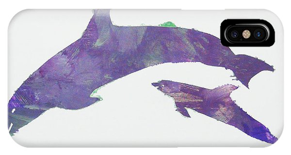 Lovely Dolphins IPhone Case