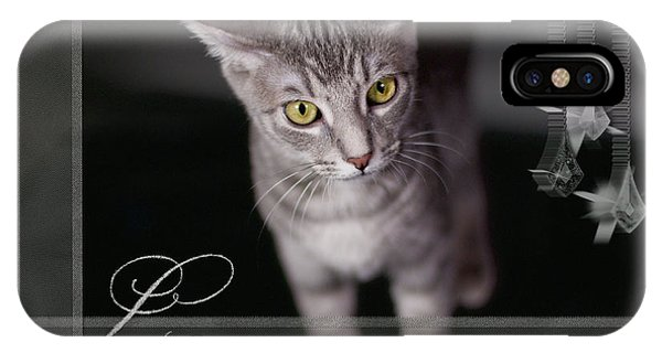 Lovely Face Card IPhone Case