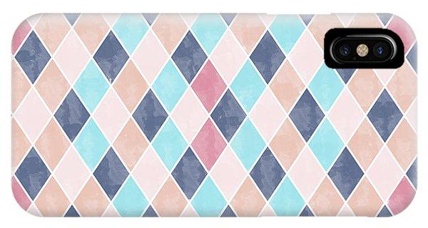 Lovely Geometric Pattern Vi IPhone Case