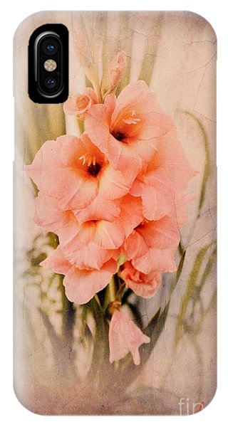 Lovely Gladiolus IPhone Case