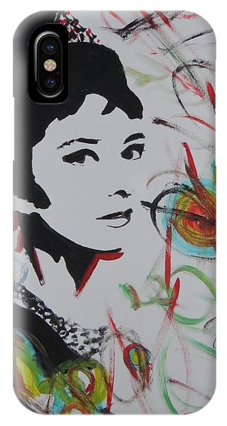 Lovely Hepburn IPhone Case