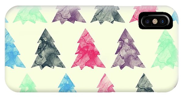 Holiday iPhone Case - Lovely Pattern II by Amir Faysal