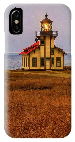 Lovely Point Cabrillo Light Station IPhone Case