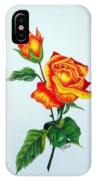 Lovely Rose IPhone Case