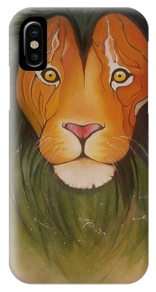Animals iPhone Case - Lovelylion by Anne Sue
