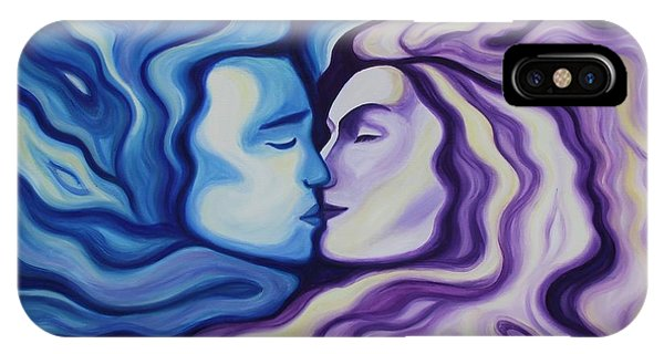 Lovers In Eternal Kiss IPhone Case