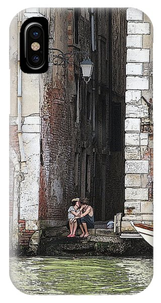 Lovers In Venice IPhone Case