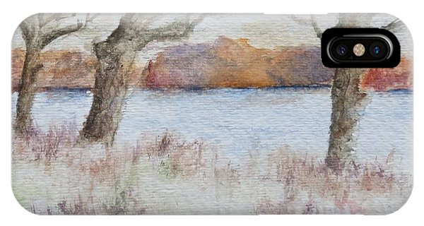 Lovers' Lake IPhone Case