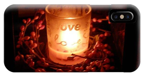 Love's Glow IPhone Case