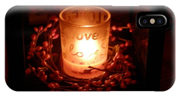 Love's Glow IPhone Case