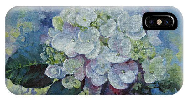 Loving Hydrangea IPhone Case