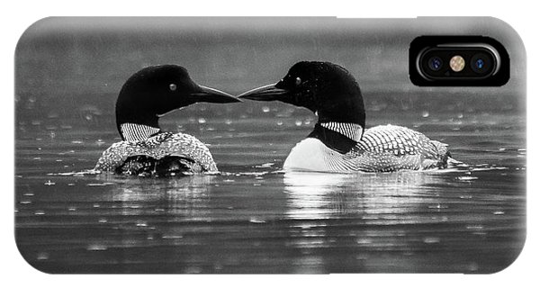 Loving Loons IPhone Case
