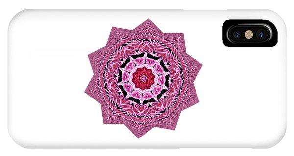 Loving Rose Mandala By Kaye Menner IPhone Case