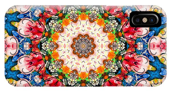 Loving Rose Mandala IPhone Case
