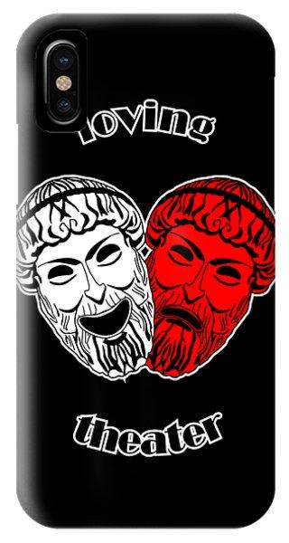 Loving Theater IPhone Case