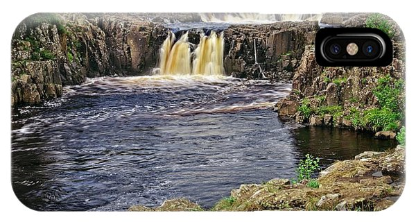 Low Force Waterfall, Teesdale, North Pennines IPhone Case