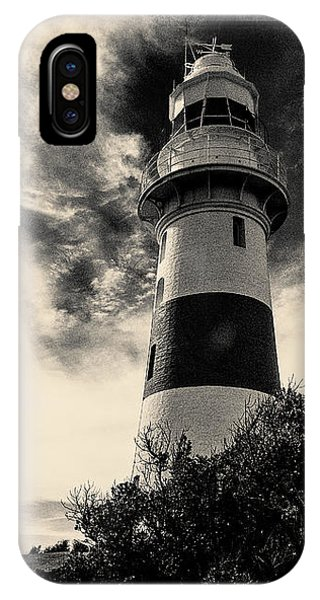 Low Head Lighthouse IPhone Case