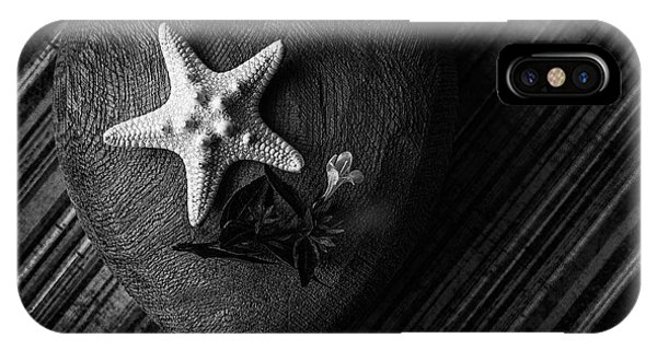 Low Key Heart And Starfish IPhone Case