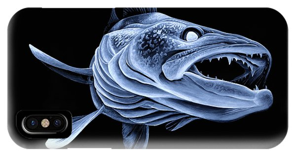 Low Light Walleye IPhone Case