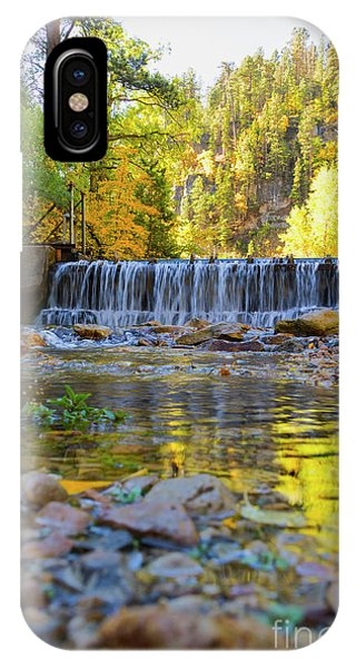Low Look At The Falls IPhone Case