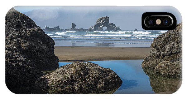 Low Tide At Ecola IPhone Case