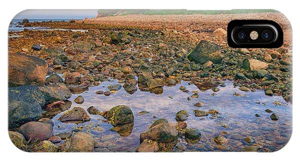 Navigation iPhone Case - Low Tide At Montauk Point by Rick Berk