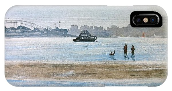 Low Tide At Rose Bay IPhone Case
