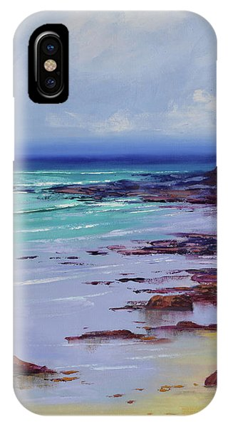 Nature Scene iPhone Case - Low Tide Colors by Graham Gercken