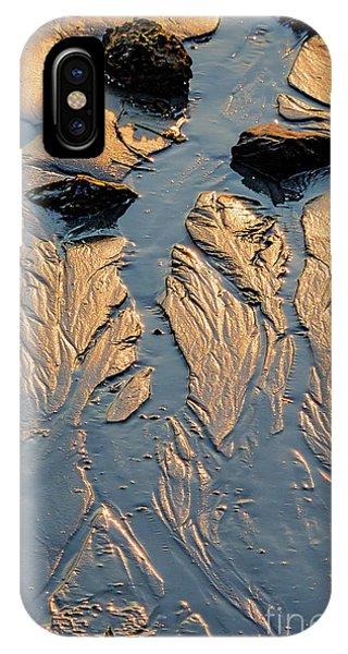 Low Tide Flow, Kettle Cove, Cape Elizabeth, Maine  -66557 IPhone Case